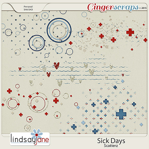 Sick Days Scatterz by Lindsay Jane