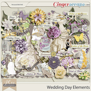 Wedding Day Elements by JoCee Designs