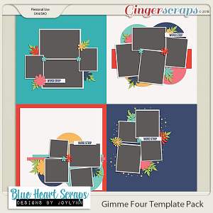 Gimme 4 Template Pack