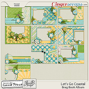 Let's Go Coastal  - Brag Book Album