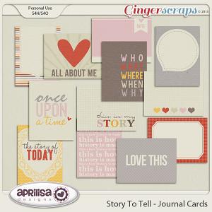 Story To Tell - Journal Cards