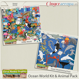 Ocean World Mini-Bundle by Clever Monkey Graphics