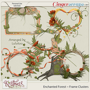 Enchanted Forest Frame Clusters