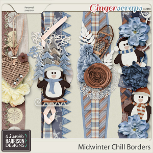 Midwinter Chill Borders by Aimee Harrison