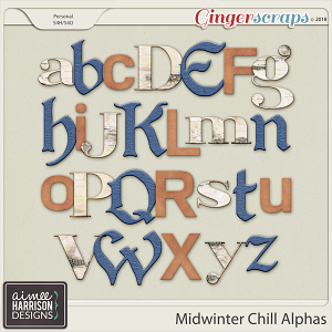 Midwinter Chill Alpha Sets by Aimee Harrison