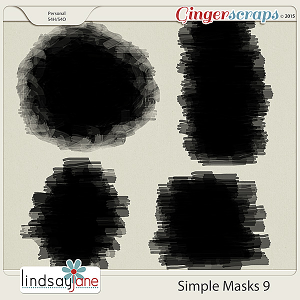 Simple Masks 9 by Lindsay Jane