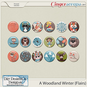 A Woodland Winter {Flairs} by Day Dreams 'n Designs