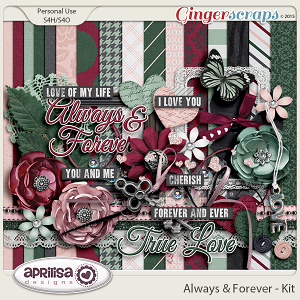 Always And Forever - Kit by Aprilisa Designs