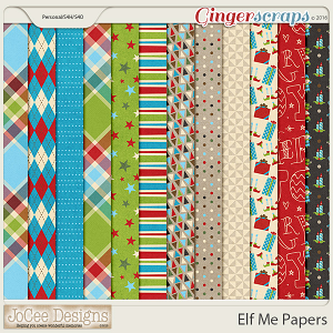 Elf Me Papers by JoCee Designs