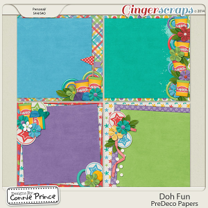 Doh Fun - PreDeco Papers
