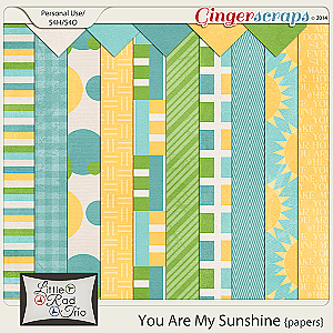 You Are My Sunshine {papers}