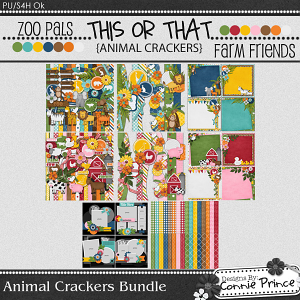 Animal Crackers - Bundle