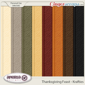 Thanksgiving Feast - Krafties by Aprilisa Designs