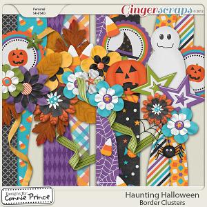Retiring Soon - Haunting Halloween - Border Clusters