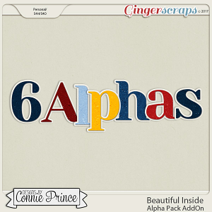 Beautiful Inside- Alpha Pack AddOn