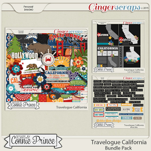 Travelogue California - Bundle Pack