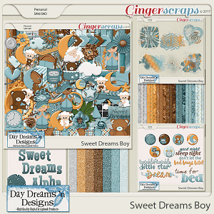Sweet Dreams Boy {Bundle Collection} by Day Dreams 'n Designs