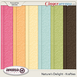 Nature&#039;s Delight Krafties by Aprilisa Designs