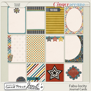 Fabu-locity - Journal Cards