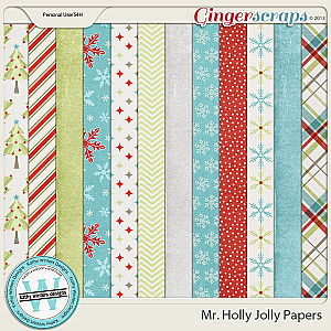 Mr. Holly Jolly Papers