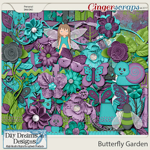 Butterfly Garden {Kit} by Day Dreams 'n Designs