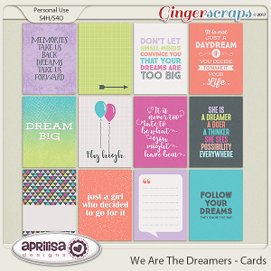 We Are The Dreamers - Cards by Aprilisa Designs