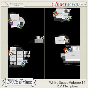 White Space Volume 14 - 12x12 Temps (CU Ok)