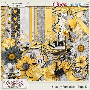 Shabby Romance Page Kit