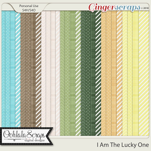 I Am The Lucky One Pattern Papers