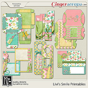 Livi's Smile Printables by Kathryn Estry
