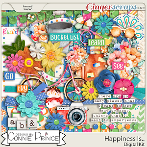 Bucket List - Kit by Connie Prince