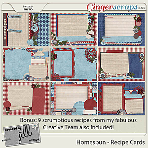 Homespun - Recipe Cards