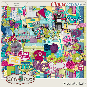 Flea Market Kit by Scraps N Pieces