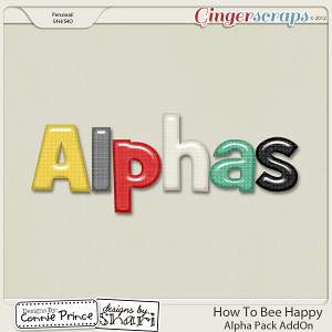 How To Bee Happy - Alpha Pack AddOn