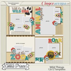 Wild Things - 12x12 Temps (CU Ok)