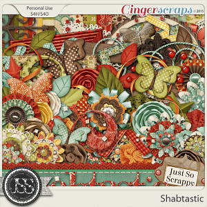 Shabtastic Digital Scrapbooking Kit