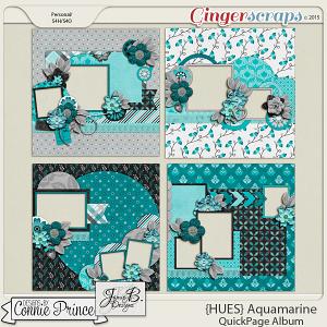 {HUES} Aquamarine - QuickPages
