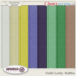 Feelin' Lucky - Krafties by Aprilisa Designs
