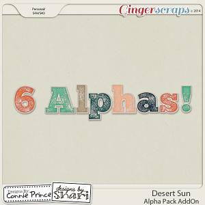 Desert Sun - Alpha Pack AddOn