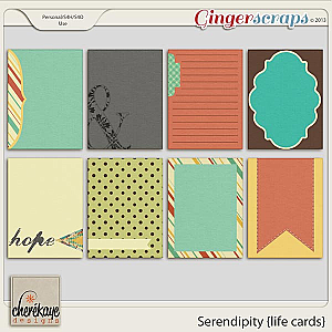 Serendipity Life Cards by Chere Kaye Designs