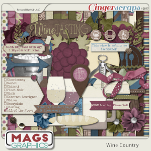 Wine Country KIT by MagsGraphics