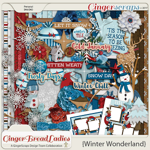 GingerBread Ladies Collab: Winter Wonderland 2