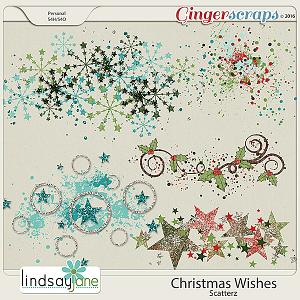 Christmas Wishes Scatterz by Lindsay Jane