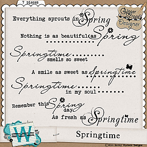 Springtime by Kathy Winters Designs
