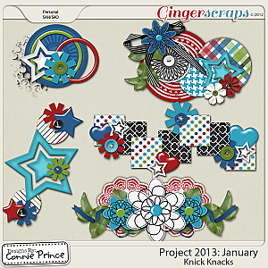 Project 2013: January - Knick Knacks