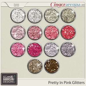 Pretty in Pink Glitters by Aimee Harrison