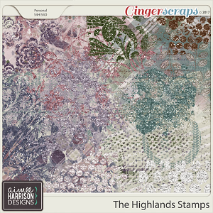 The Highlands Stamps by Aimee Harrison