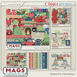 Home For Christmas BUNDLE from MagsGraphics