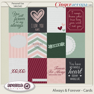 Always And Forever - Cards by Aprilisa Designs
