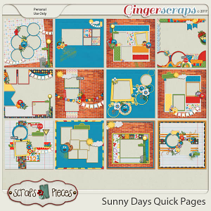 Sunny Days Quick Pages
